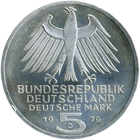 5 Mark 1979 Deutsches Archäologisches Institut Deutschland