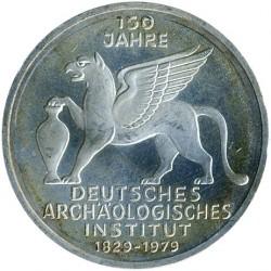 Moneda > 5marcos, 1979 - Alemania  (150º Aniversario - Insituto Arqueológico Alemán) - reverse