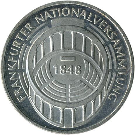 5 Mark 1973 Frankfurter Nationalversammlung Deutschland Münzen