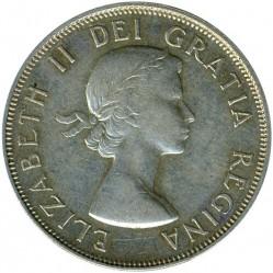 Moneda > 50cents, 1953-1958 - Canadà  - obverse