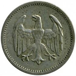 Moneda > 1marco, 1924-1925 - Alemania  - obverse