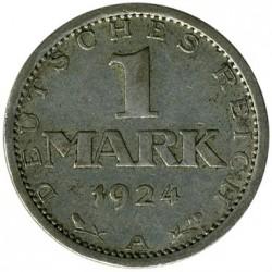 Moneda > 1marco, 1924-1925 - Alemania  - reverse