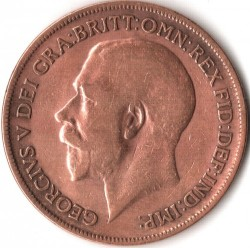 Moeda > 1pence, 1911-1926 - Reino Unido  - obverse