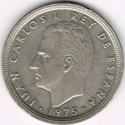 Moneda > 50pesetas, 1975 - España  - obverse