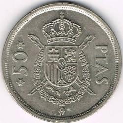 Moneda > 50pesetas, 1975 - España  - reverse