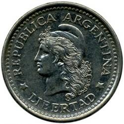 Coin > 20centavos, 1957-1961 - Argentina  - obverse
