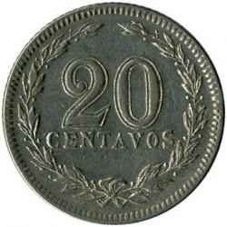 硬币  /> 20分, 1896-1942 - 阿根廷 - reverse