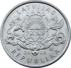 Moneta > 1lats, 2006 - Lettonia  (Pigna) - obverse