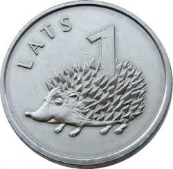 Moneta > 1lats, 2012 - Lettonia  (Riccio) - reverse