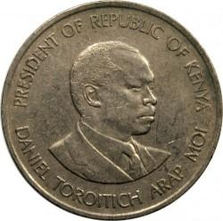 Монета > 1шиллинг, 1978-1989 - Кения  - reverse