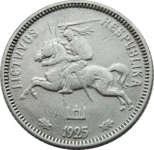 1 Litas 1925 kaina