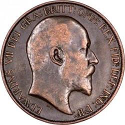 Кованица > ½пенија, 1902-1910 - Уједињено Краљевство  - obverse