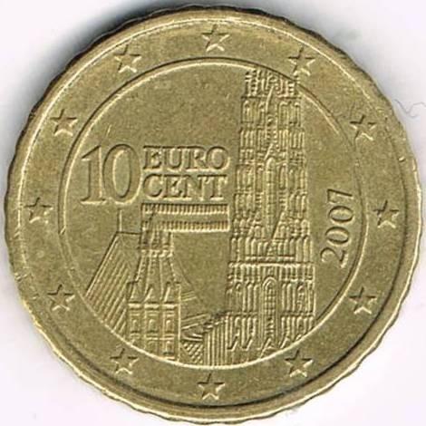 10 Centimes Deuro 2002 2007 Autriche Valeur Pièce Ucoinnet