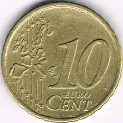 Coin > 10cents, 2002-2007 - Austria  - reverse