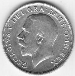 Minca > 1shilling, 1911-1919 - Veľká Británia  - obverse