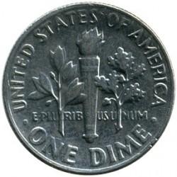 Moneta > 1dime, 1966 - USA  (Dime Roosevelt ) - reverse