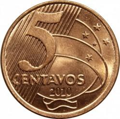 Moneta > 5centavos, 1998-2017 - Brazylia  - reverse