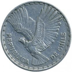 Minca > 1centésimo, 1960-1963 - Čile  - obverse