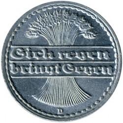 Moneda > 50peniques, 1919-1922 - Alemania  - obverse