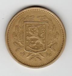 Münze > 20Mark, 1934 - Finnland  - obverse