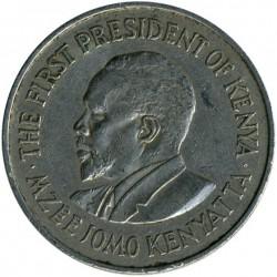 Coin > 1shilling, 1971 - Kenya  - reverse