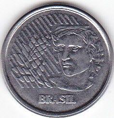 Moneta > 1centavo, 1994-1997 - Brazylia  - obverse
