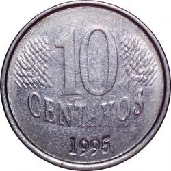 Münze > 10Centavos, 1994-1997 - Brasilien   - reverse