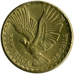 Coin > 2centésimos, 1960-1970 - Chile  - obverse