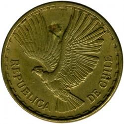 Mynt > 10centésimos, 1960-1970 - Chile  - obverse