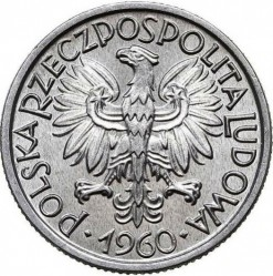Кованица > 2злота, 1958-1974 - Пољска  - obverse