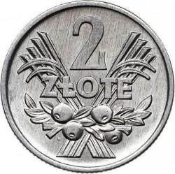 Кованица > 2злота, 1958-1974 - Пољска  - reverse