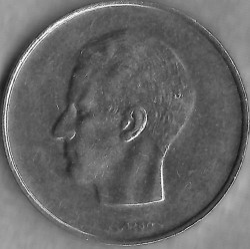 Coin > 10francs, 1977 - Belgium  (Legend in French - 'BELGIQUE') - reverse