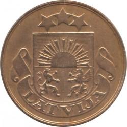 מטבע > 2סנטים, 1922-1932 - לטביה  - obverse