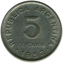 Moneta > 5centavos, 1951-1953 - Argentyna  - reverse