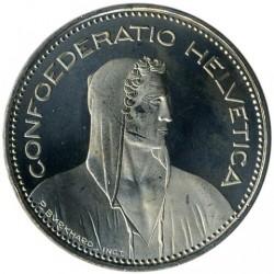 Moneta > 5franków, 2008 - Szwajcaria  - obverse