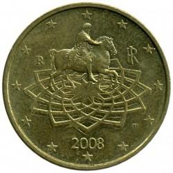 Moneta > 50centų, 2008-2017 - Italija  - obverse