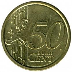 Moneta > 50centų, 2008-2017 - Italija  - reverse