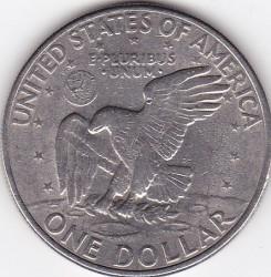 Moneda > 1dólar, 1971 - Estados Unidos  - reverse