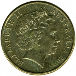 Moneta > 1doleris, 2000-2017 - Australija  - obverse