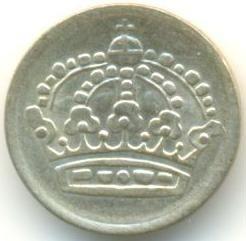 Moneda > 10öre, 1952-1962 - Suècia  - obverse