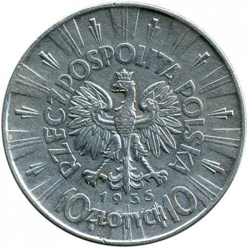 Стоимость монеты 10 злотых 1935 исламская нумизматика