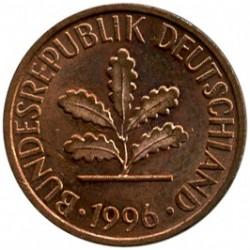 Münze > 1Pfennig, 1996 - Deutschland  - obverse