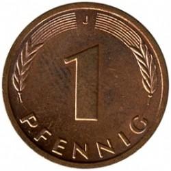 Münze > 1Pfennig, 1996 - Deutschland  - reverse