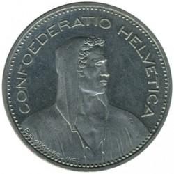 Moneta > 5franków, 1990 - Szwajcaria  - obverse
