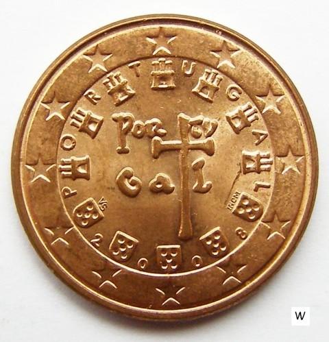 5 Eurocent 2002 2018 Portugal Münzen Wert Ucoinnet