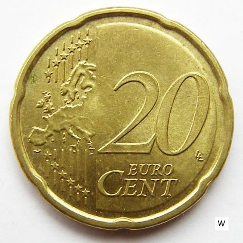 20 Eurocent 2008 2018 Portugal Münzen Wert Ucoinnet