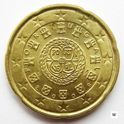Монета > 20евроцента, 2008-2019 - Португалия  - reverse