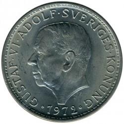 Mynt > 5kroner, 1972-1973 - Sverige  - obverse