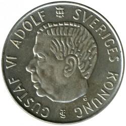 Pièce > 5kronor, 1954-1971 - Suède  - obverse
