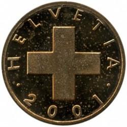 מטבע > 1ראפן, 1948-2006 - שווייץ  - obverse